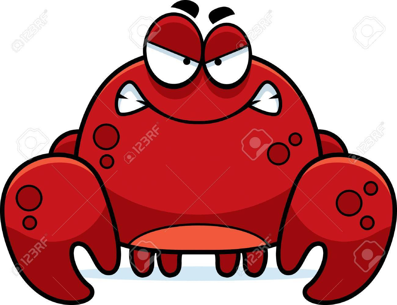 Angry crab clipart 1 » Clipart Portal.