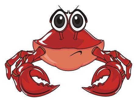 75 Angry Crab Cliparts, Stock Vector And Royalty Free Angry Crab.