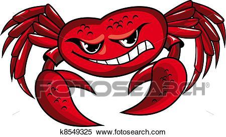 Angry crab clipart 8 » Clipart Portal.