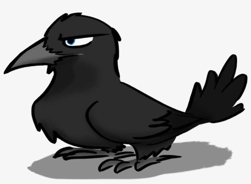Clipart Library Crow Is Angry By.