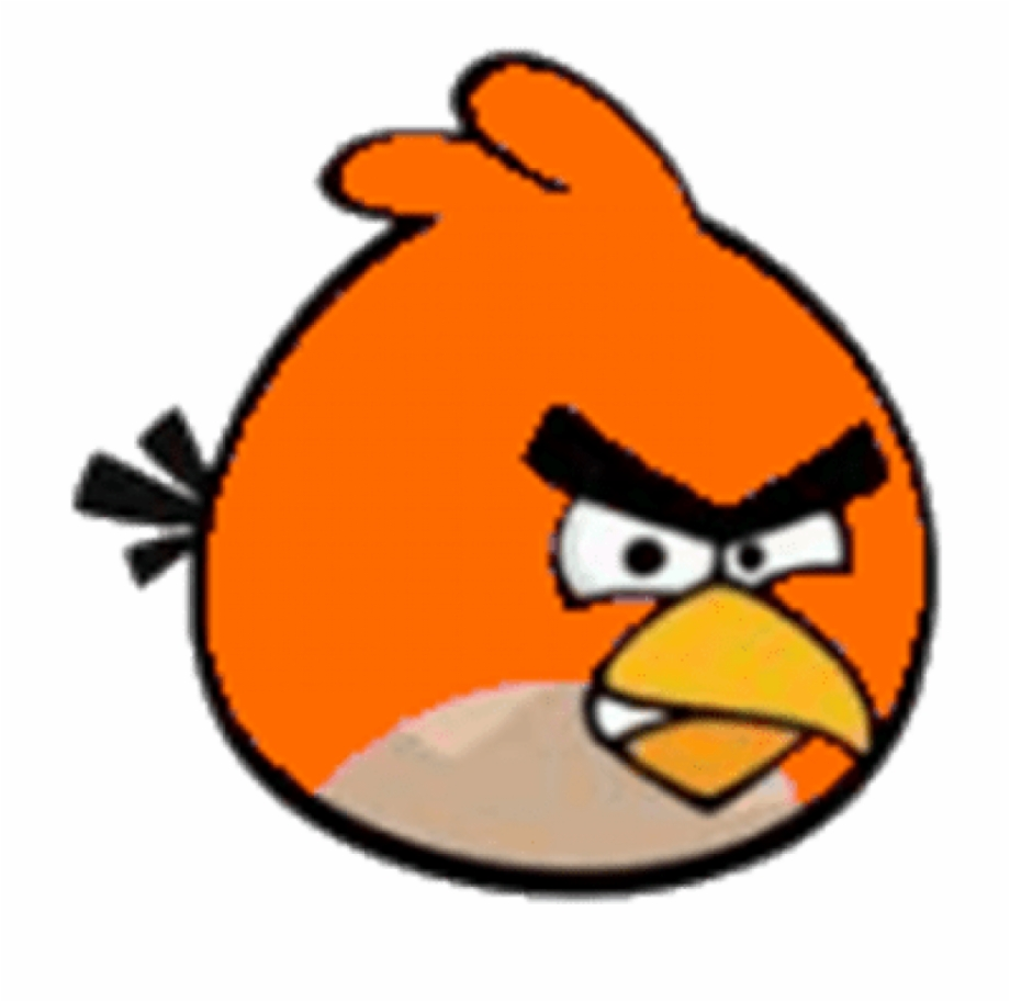 Clipart Freeuse Orange Angry Bird Roblox Cartoon Characters.