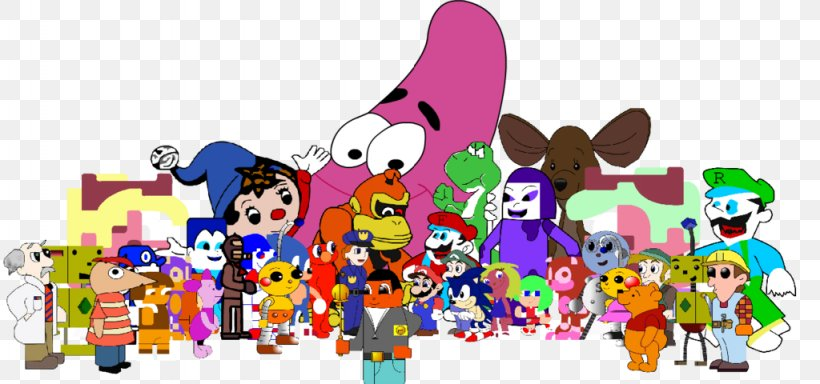 Cartoon Crowd Comics Clip Art, PNG, 1024x480px, Cartoon.