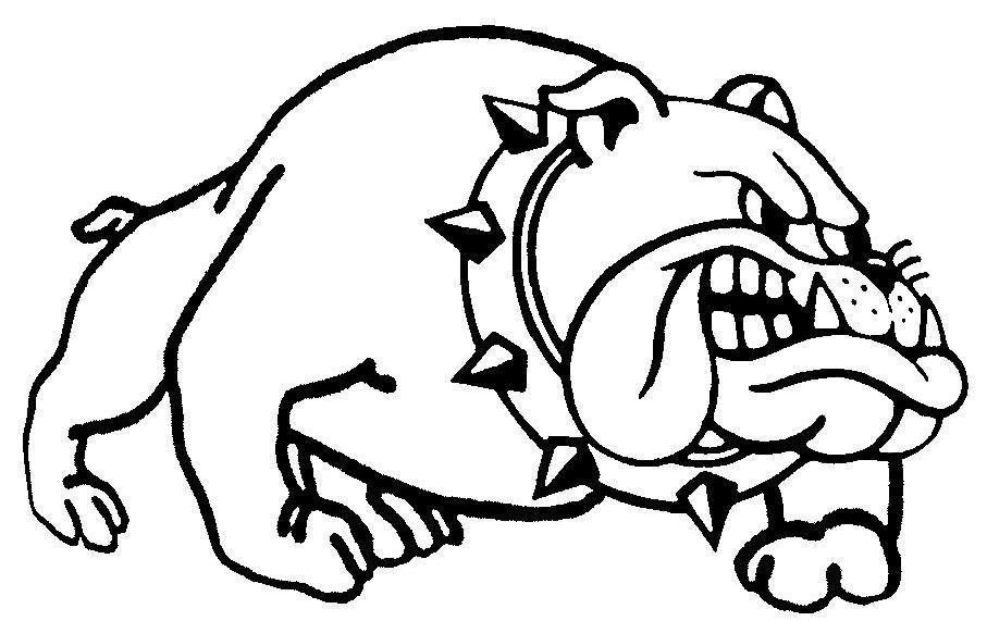 Angry Cartoon Dog Clipart.
