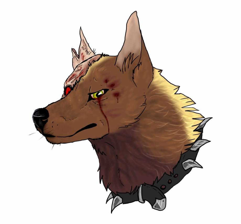 Angry Dog Png.