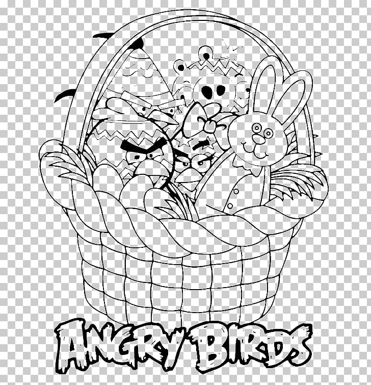 Easter Bunny Angry Birds Star Wars Easter egg Coloring book.