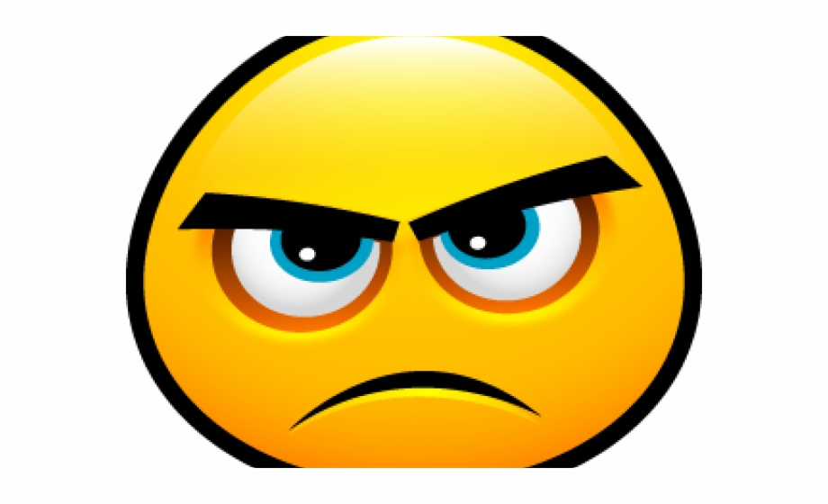 Angry Emoji Clipart Dissatisfied.