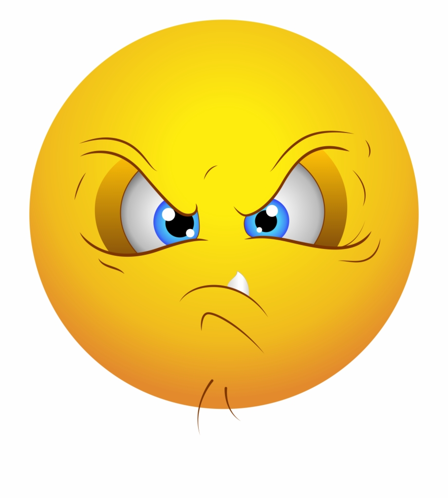 Angry Emoji Free PNG Images & Clipart Download #2030762.