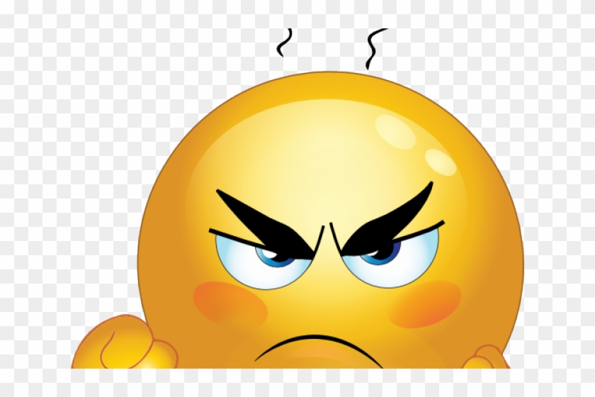 Angry Emoji Clipart Angry Emoticon.