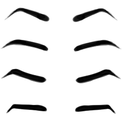 Angry Eyebrows Cliparts.