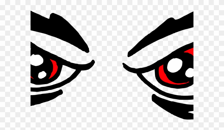 Red Eyes Clipart.