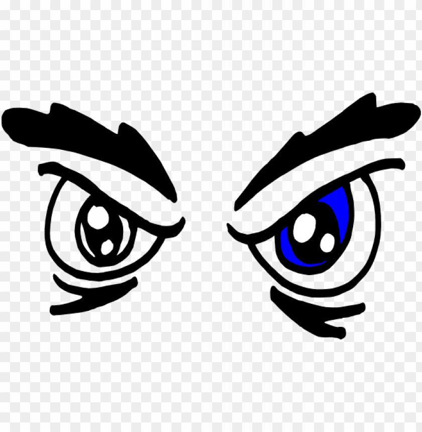 angry cartoon eyes png.