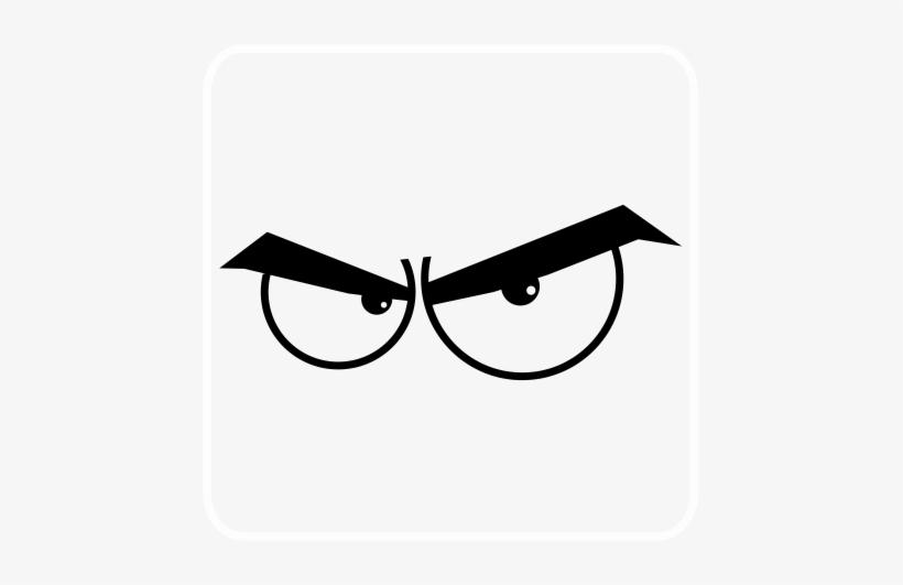Angry Cartoon Eyes.