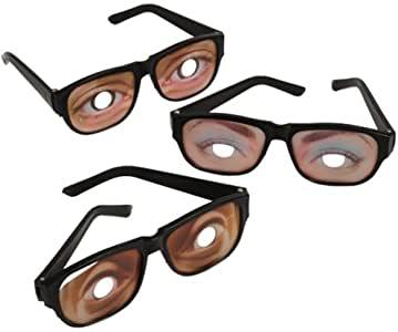 Funny Eyes Disguise Glasses (1 Dozen).