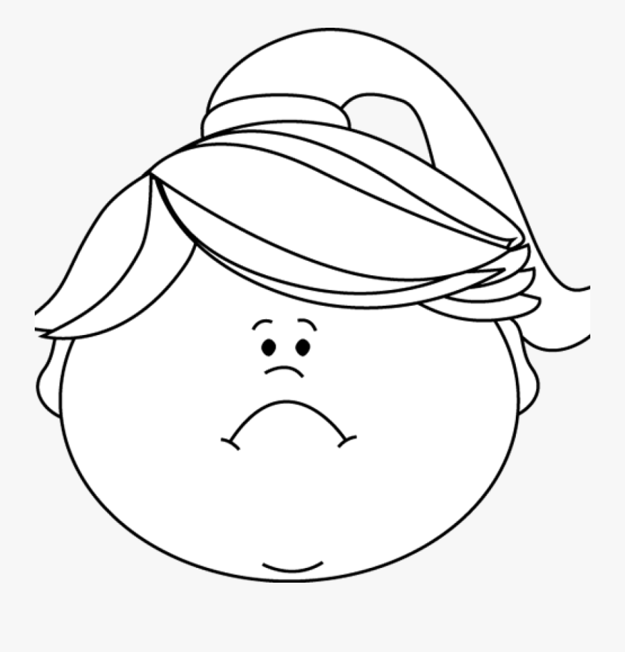 Angry Emoji Clipart Black And White , Png Download.