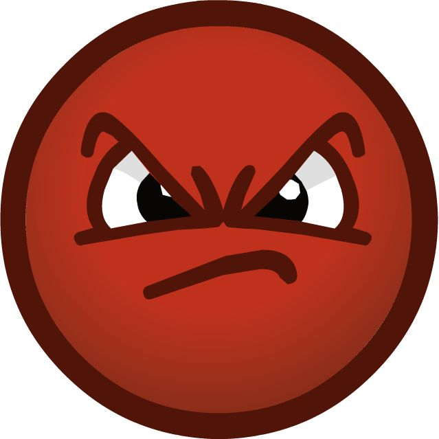 Angry Faces Clipart.