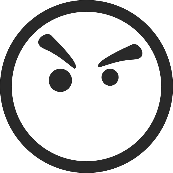 Free Angry Face Png, Download Free Clip Art, Free Clip Art.