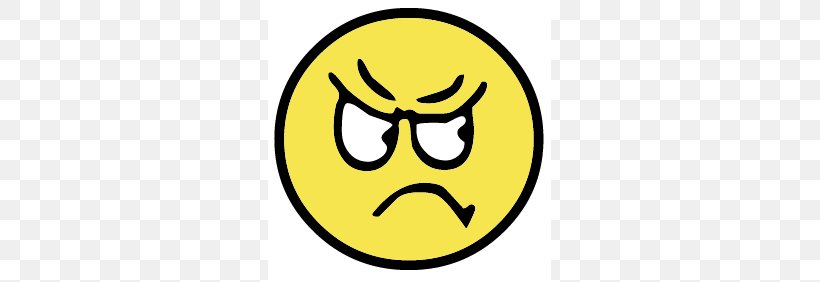 Smiley Anger Emoticon Clip Art, PNG, 283x282px, Smiley.