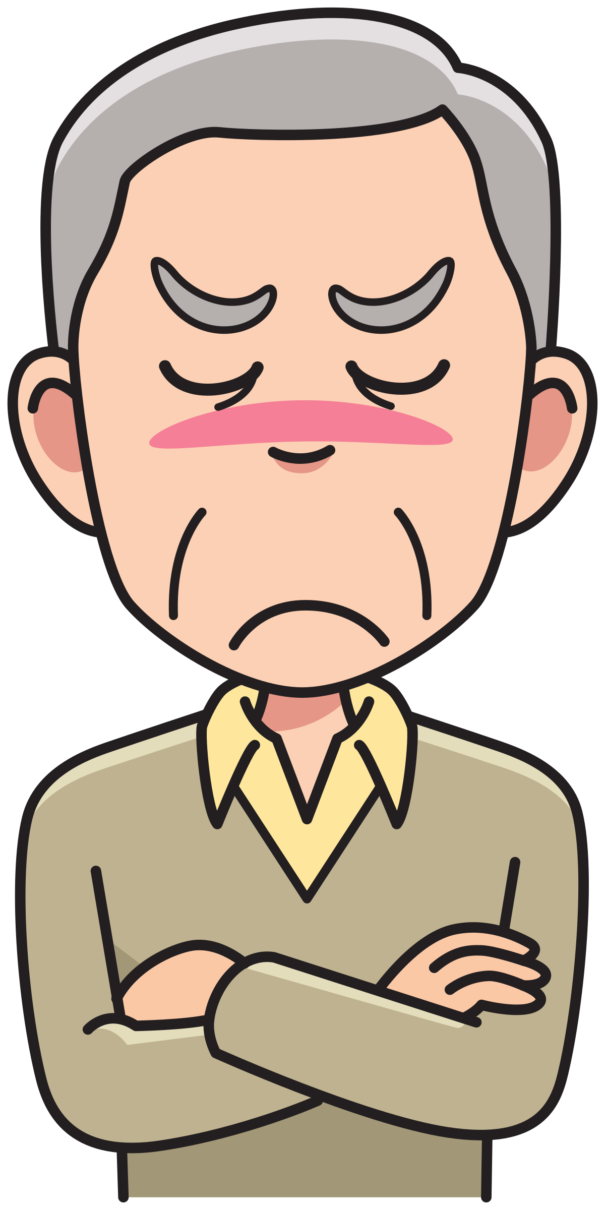 Clipart man angry, Clipart man angry Transparent FREE for.