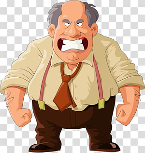Angry Man PNG clipart images free download.