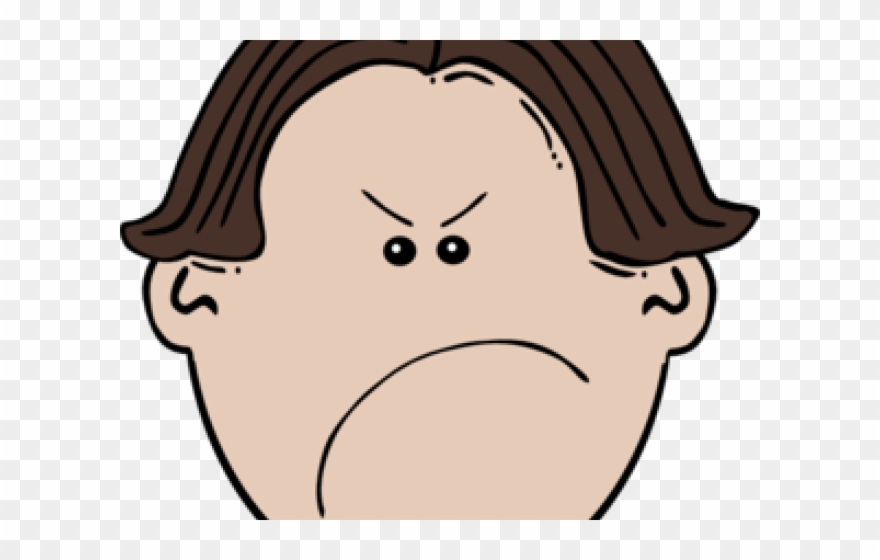 Png Library Library Anger Clipart Negative Person.