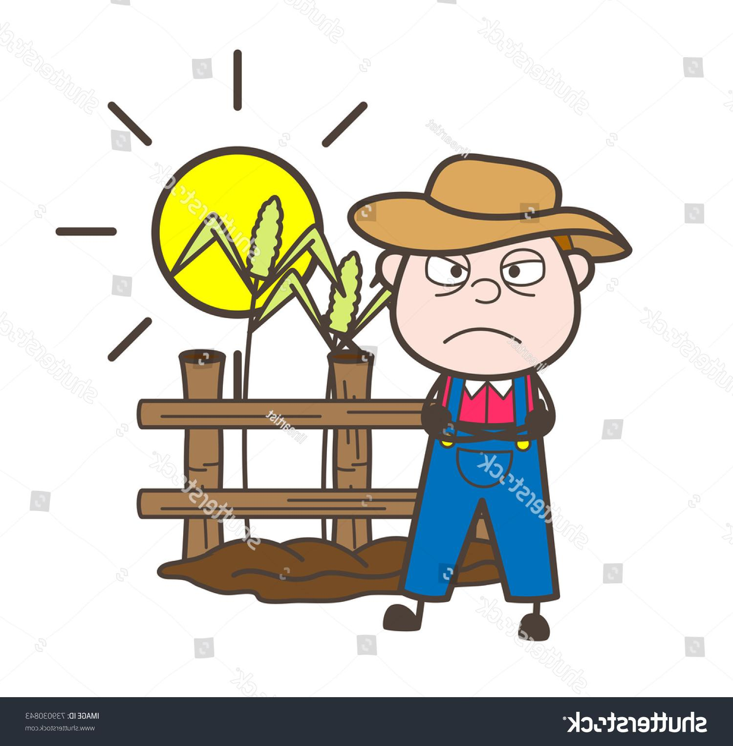 Best Free Angry Farmer Cartoon File Free » Free Vector Art, Images.
