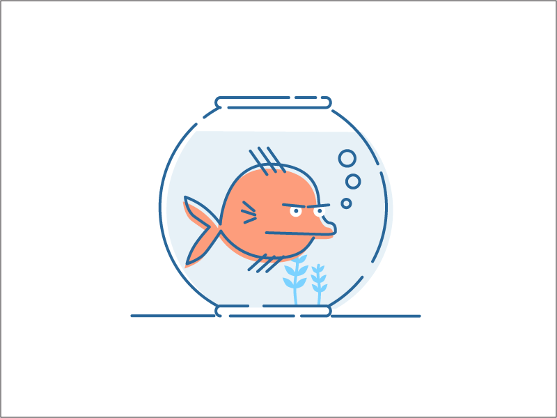 Fish Bowl by Warren Harper for Sift Science on Dribbble.