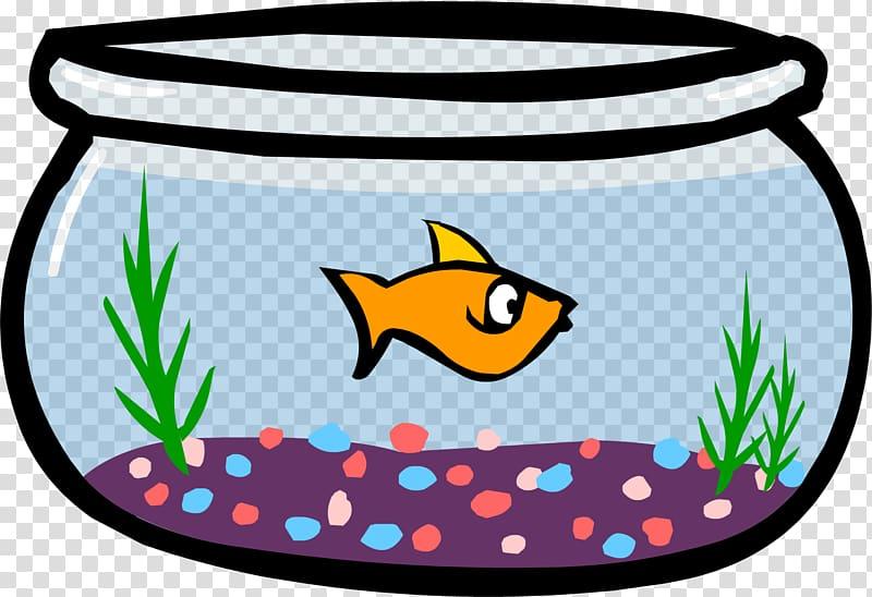 Club Penguin Goldfish Bowl , fish bowl transparent.