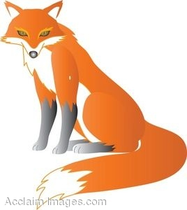 Angry Fox Clipart.