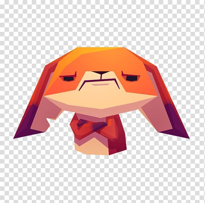 Sticker Paper Fox iMessage, Cartoon angry little fox.