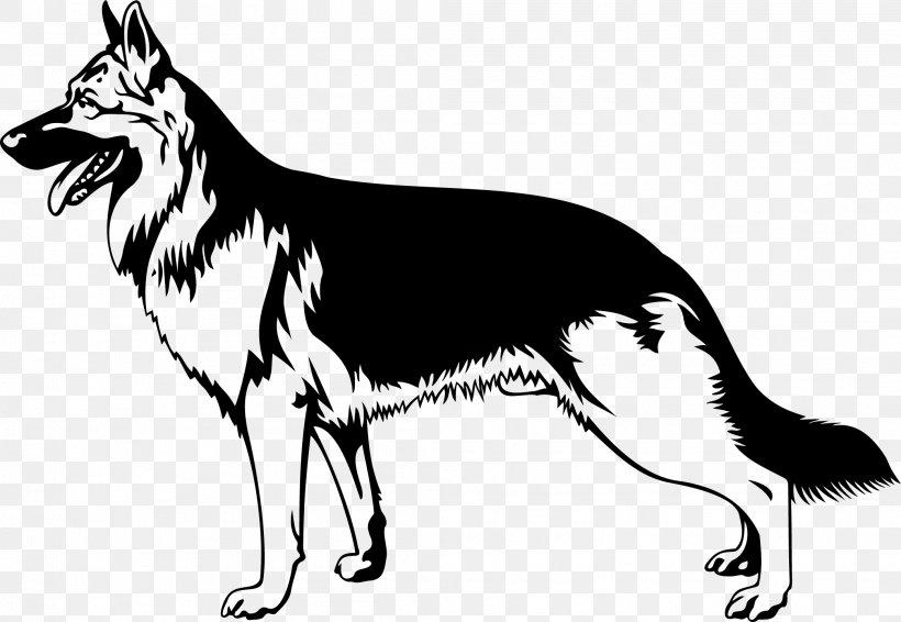 German Shepherd Dog Breed Clip Art, PNG, 2084x1440px, German.