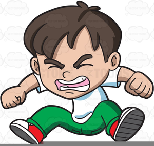 Angry Girl Clipart.