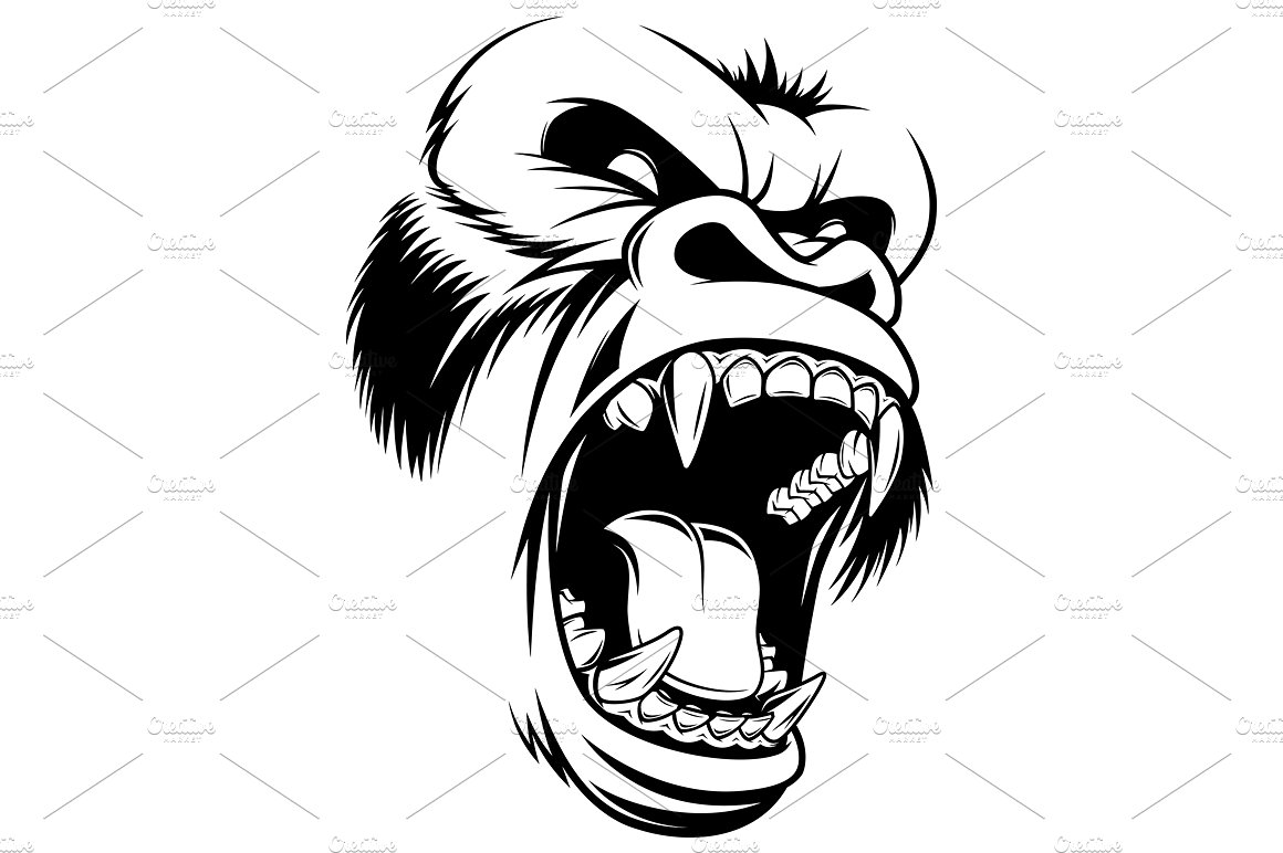 Angry Gorilla Png (110+ images in Collection) Page 2.