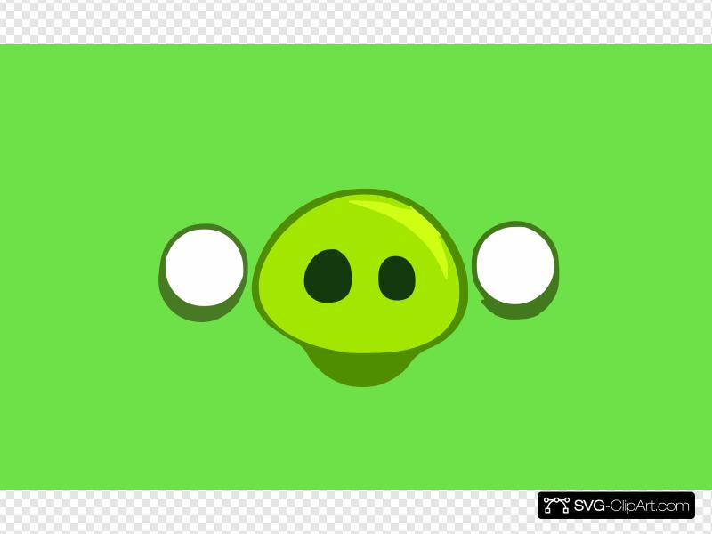 Angry Birds Pig Happy Clip art, Icon and SVG.