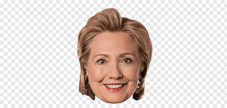 Hillary Clinton, Face Clinton free png.