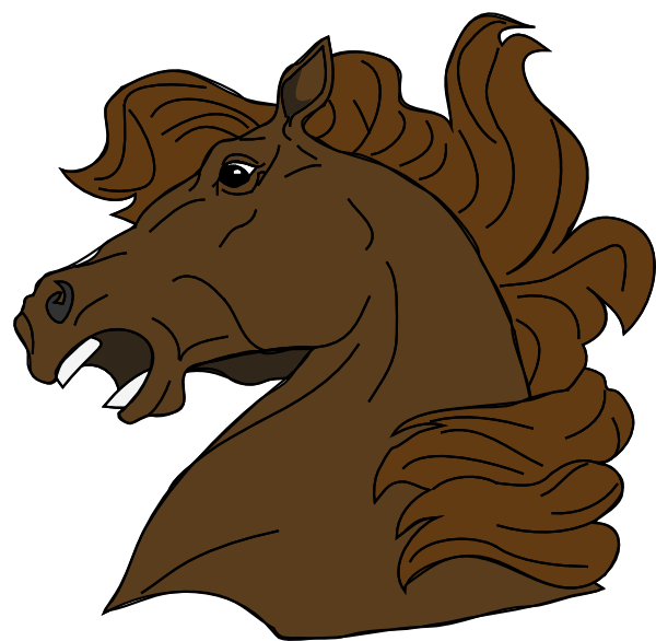 Angry Horse Clip Art at Clker.com.