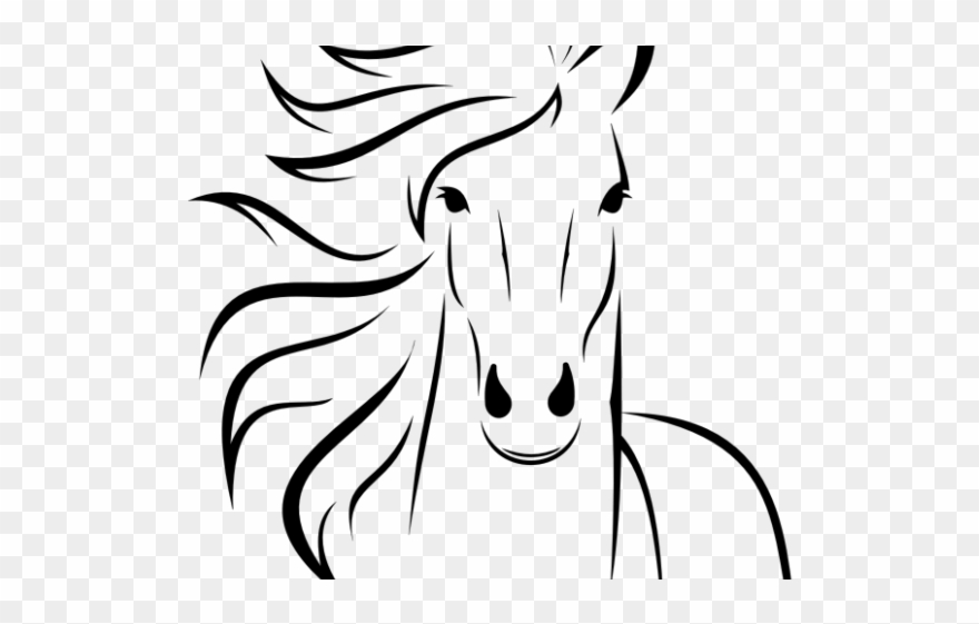Horse Clipart Easy.