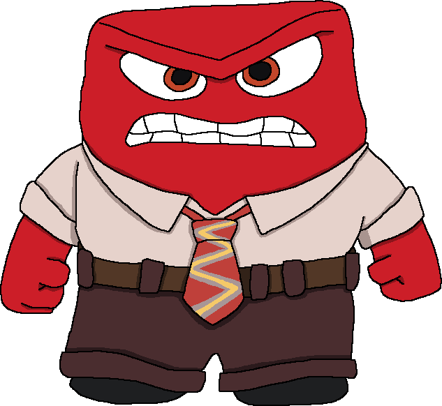 Free Anger Inside Out Transparent, Download Free Clip Art.