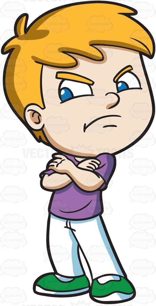 Angry kid clipart 8 » Clipart Portal.