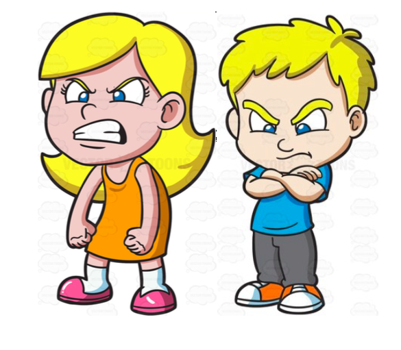 Angry Boy Clipart.