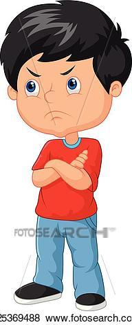 Angry kid clipart 5 » Clipart Portal.