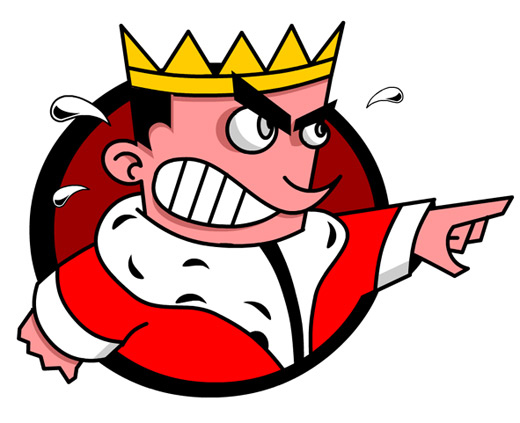Angry king clipart 6.