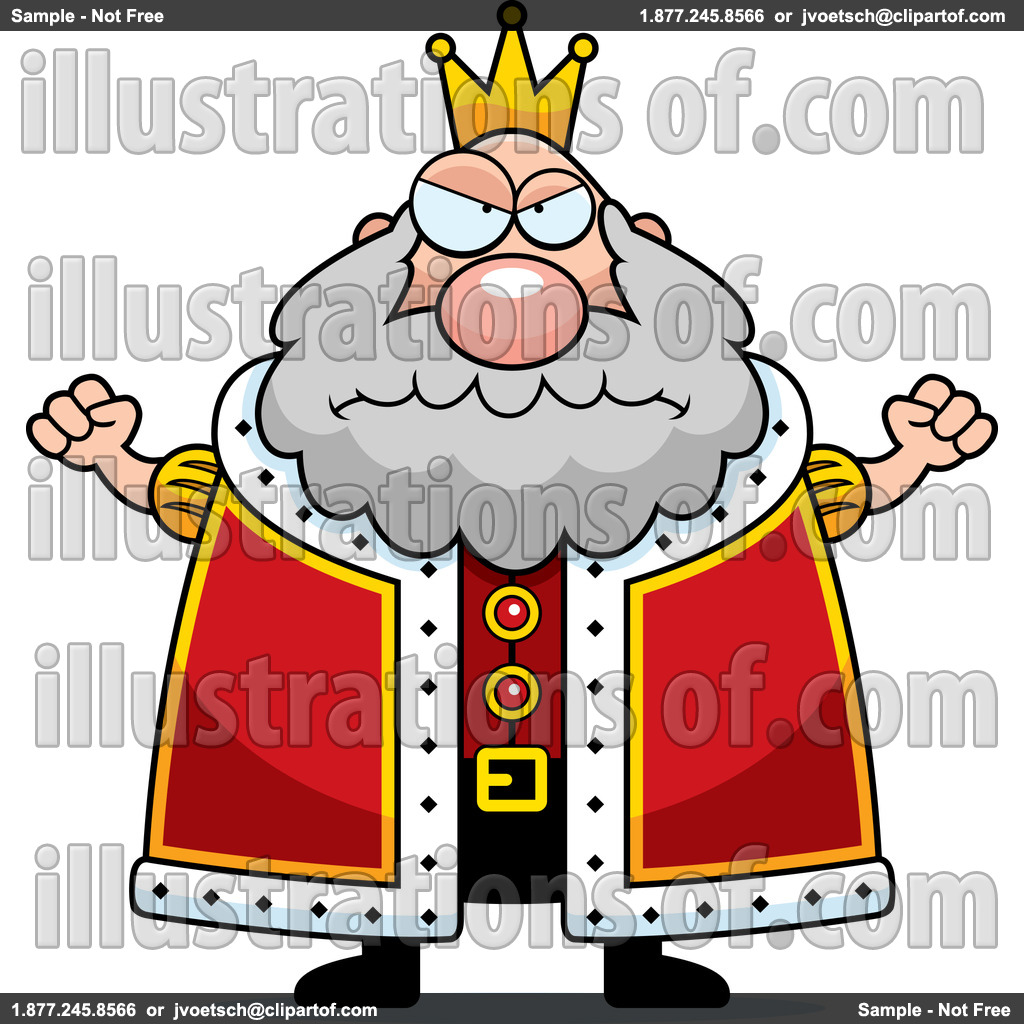 Angry King Clipart.