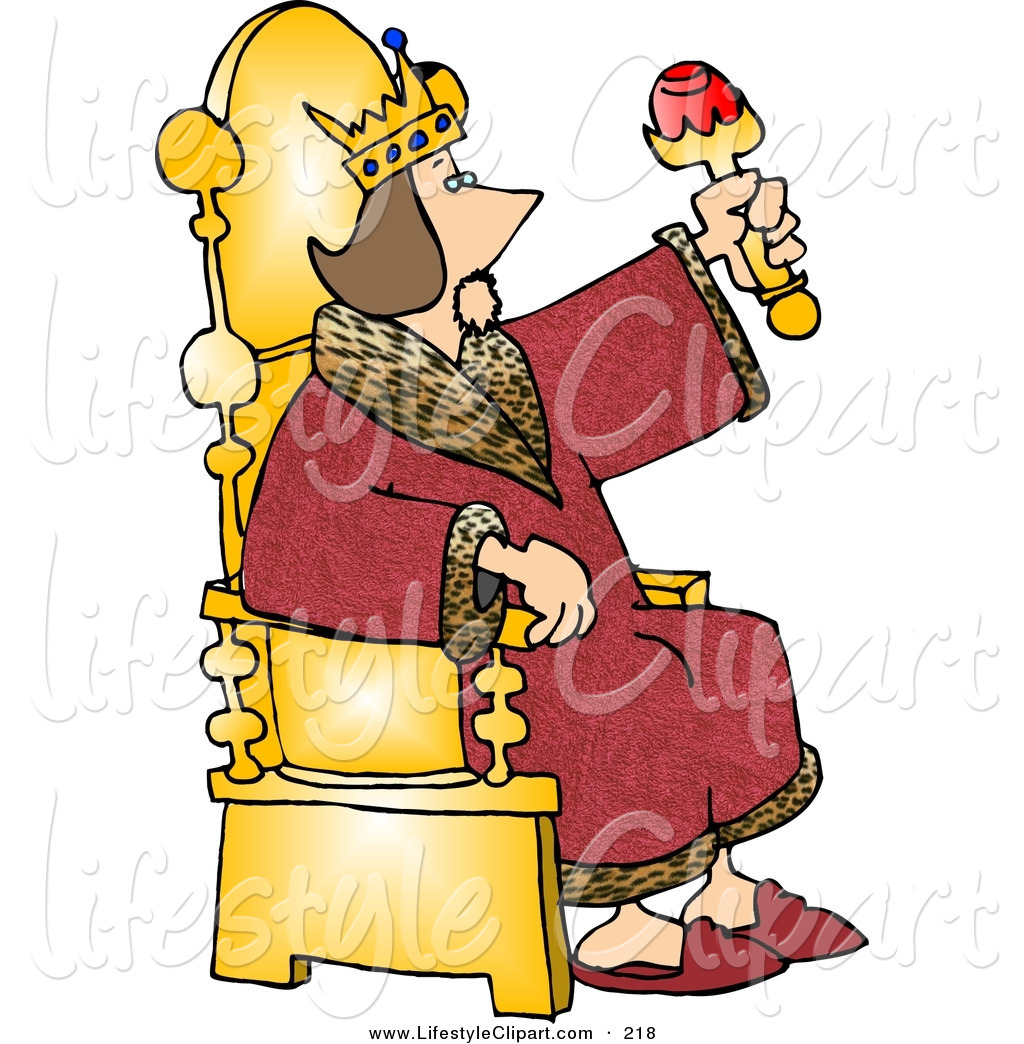 12691 King free clipart.