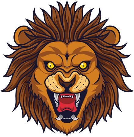 2,822 Angry Lion Stock Vector Illustration And Royalty Free Angry.