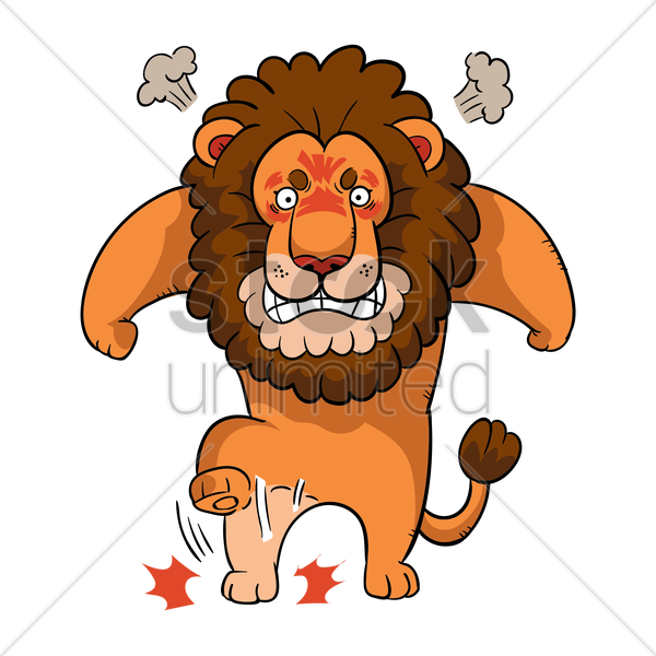 Lion clipart angry, Lion angry Transparent FREE for download.