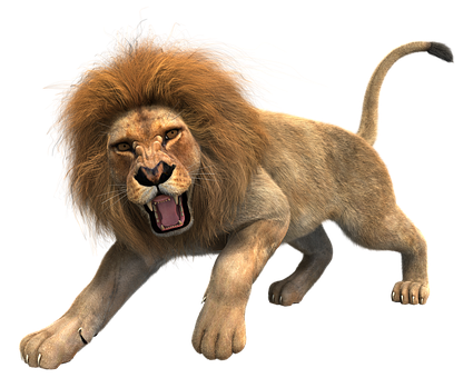 Angry Lion Png Images Vector, Clipart, PSD.