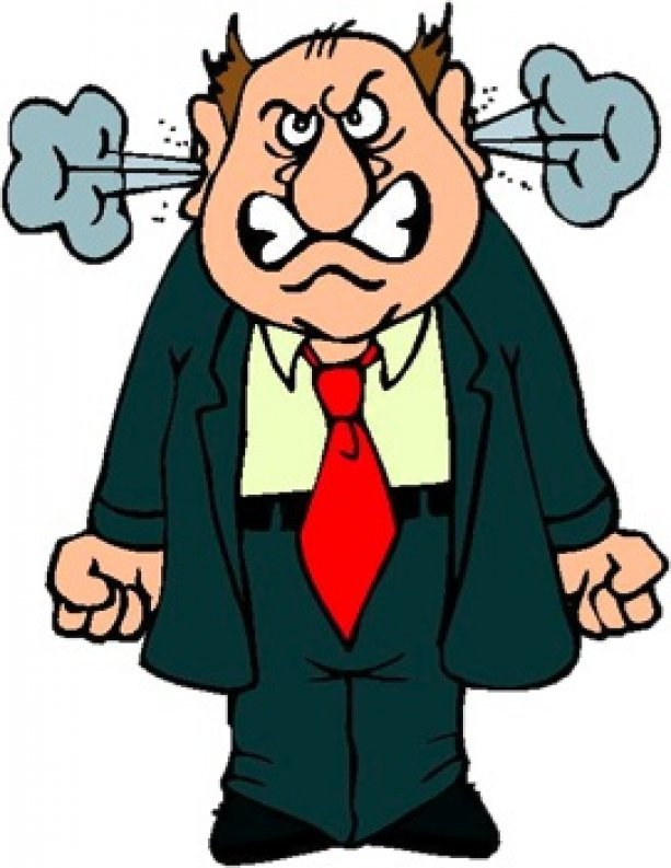 Angry man clipart » Clipart Portal.
