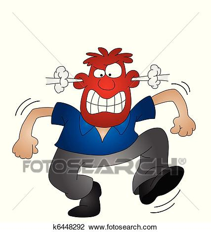 Angry man clipart 6 » Clipart Station.