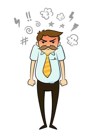 28,233 Angry Man Stock Vector Illustration And Royalty Free Angry.