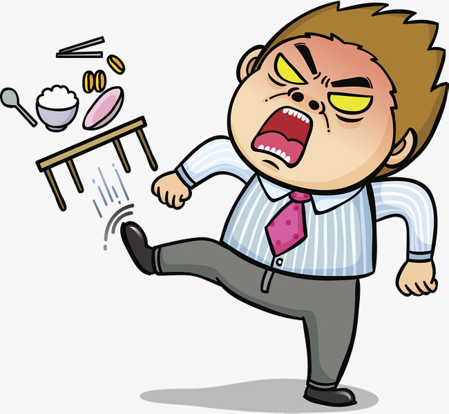 Angry Clipart Man Png & Free Clip Art Images #21636.